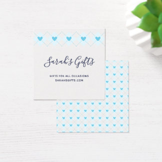 Lovely Argyle Square Business Card