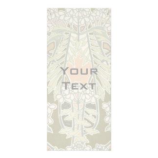 lovely art nouveau nature design custom rack card