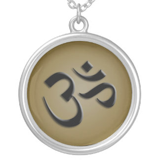 Lovely Aum or OM Charm Necklace