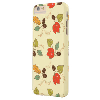 Lovely Autumn Floral Theme Barely There iPhone 6 Plus Case