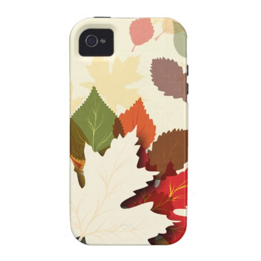 Lovely Autumn Leaves iPhone 4/4S Case