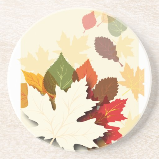 Lovely Autumn Leaves Coasters