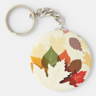Lovely Autumn Leaves Key Chains