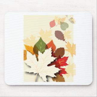Lovely Autumn Leaves Mousepads