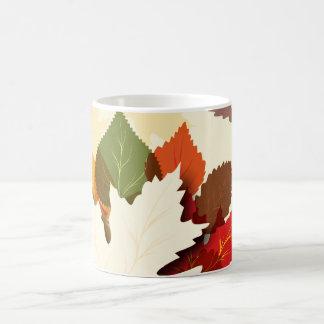Lovely Autumn Leaves Coffee Mug