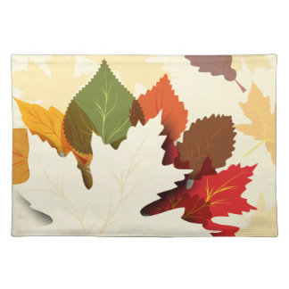 Lovely Autumn Leaves Placemat