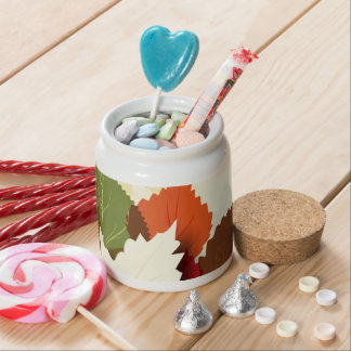 Lovely Autumn Leaves Candy Dish