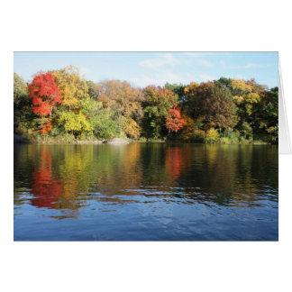 Lovely Autumn Scene Note Card