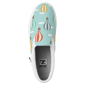Lovely Balloons Slip on ZIPZ shoes