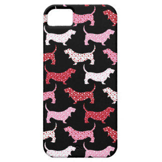 Lovely Bassets Case For The iPhone 5