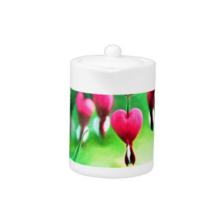 Lovely Bleeding Hearts Teapot