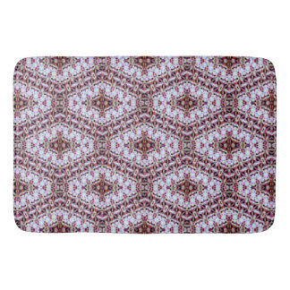 Lovely blue bath mat