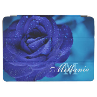 Lovely Blue rose flower iPad Air Cover