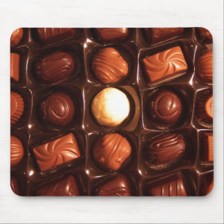 Lovely Box of Chocolates Mousepad