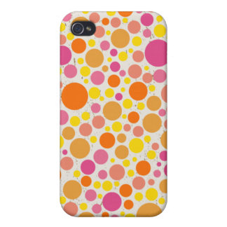 Lovely Bubbly colorful iphone4 case iPhone 4/4S Cases