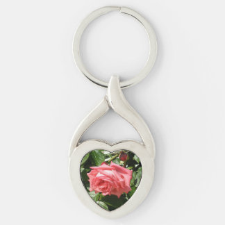 Lovely Bulgarian Rose/Roza Key Ring