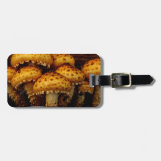 Lovely Bunch of Wild Mushrooms Bag Tag