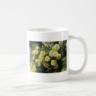 lovely bunch of yellow roses coffee mug