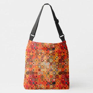 lovely burnt orange vintage style shoulder bag