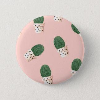 Lovely Cactus 6 Cm Round Badge