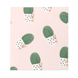 Lovely Cactus Notepad