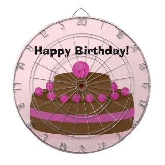 Lovely cake dartboard