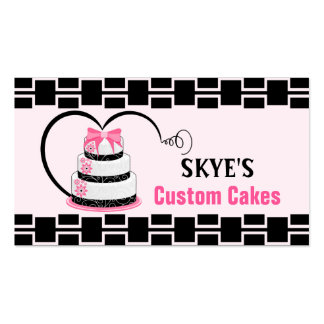 Lovely Cakes Pack Of Standard Business Cards