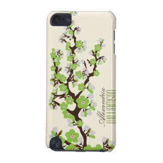 Lovely Cherry Blossoms iPod Touch Case (lime)