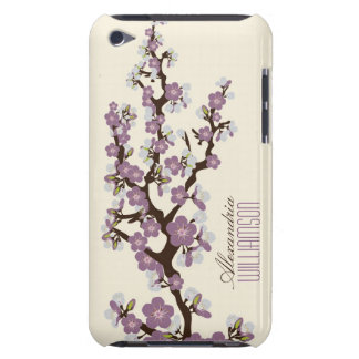 Lovely Cherry Blossoms (lilac) iPod Touch Cover