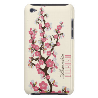 Lovely Cherry Blossoms (pink) Barely There iPod Covers