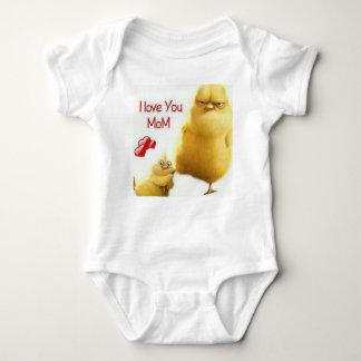 Lovely chick baby bodysuit
