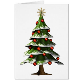 Lovely Christmas Tree Card