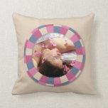 lovely Circle frame - 'Beige Rose' on beige