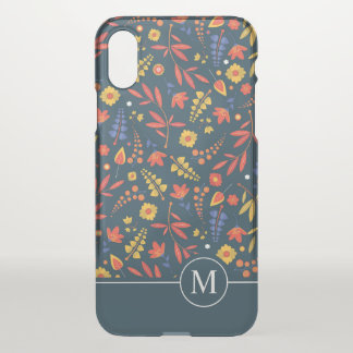 Lovely Classic Floral Ditzy | iPhone X Case