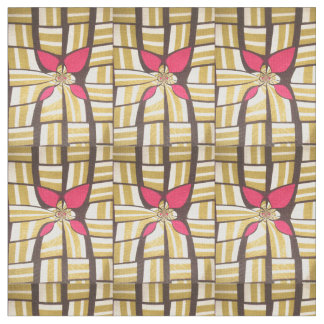 Lovely Coffee Brown  Spates African Print design Fabric