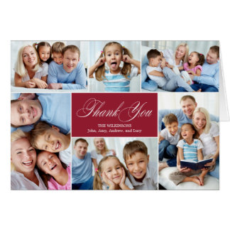 Lovely Collage Thank You Cards
