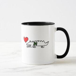 Lovely Crocodile Mug