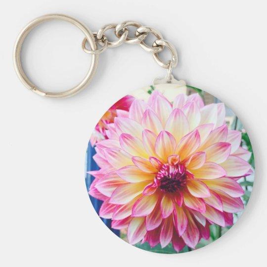 Lovely Dahlia Keychain