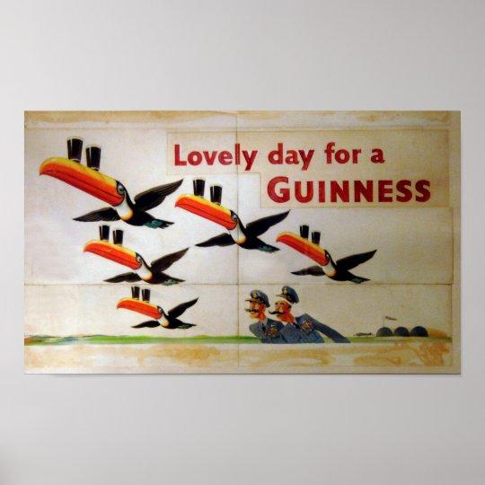 Lovely day for a Guinness Poster