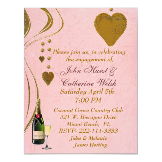 Lovely engagement party Invitation