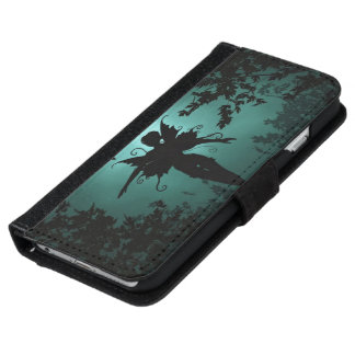 Lovely fairy iPhone or Galaxy Wallet Case