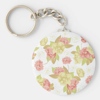 Lovely Fall Florals Design Keychains