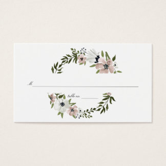 Lovely Floral Place Cards