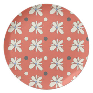 lovely floral plate
