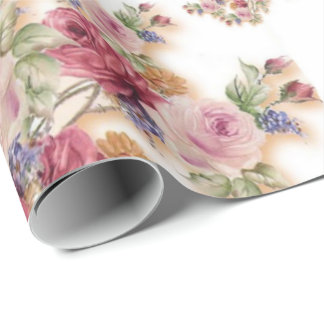 Lovely Floral Wrapping Paper