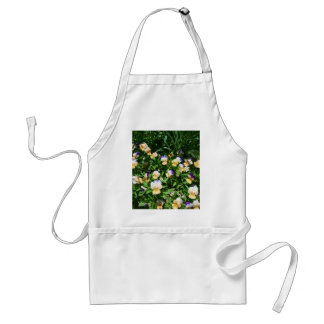 Lovely flowers adult apron