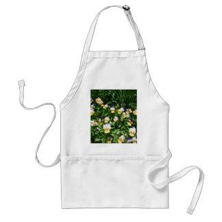 Lovely flowers standard apron