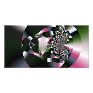 lovely_fractal personalized photo card