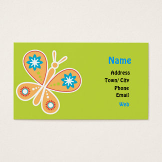 Lovely freedom business card
