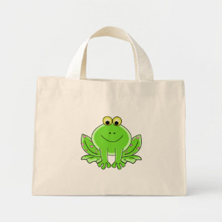 Lovely Frog Mini Tote Bag